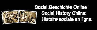 Logo Sozial.Geschichte Online